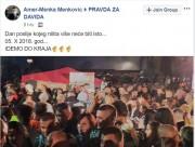 Подршка Бошњака-муслимана Групи Правда за Давида