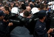 Протести у Београду-23.7.2008.